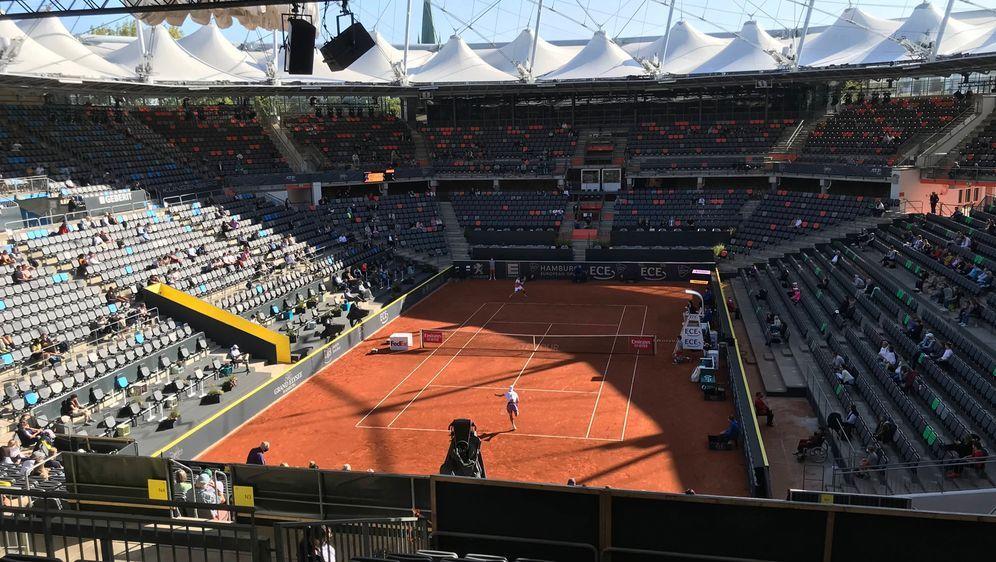 Am Hamburger Rothenbaum sind 2.300 Fans pro Turniertag zugelassen.