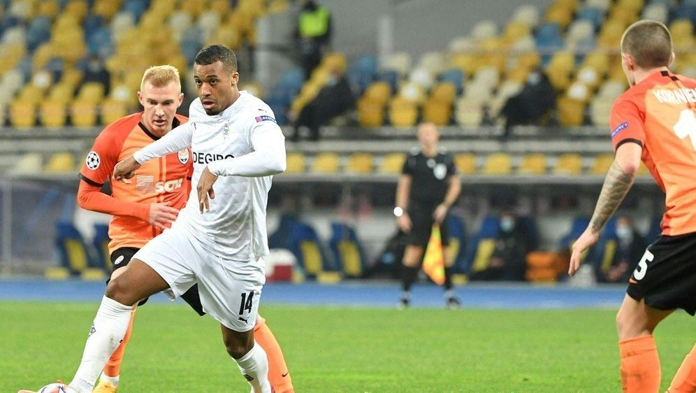 Plea traf im Hinspiel dreifach für die Borussia - Bildquelle: AFPSIDSERGEI SUPINSKY