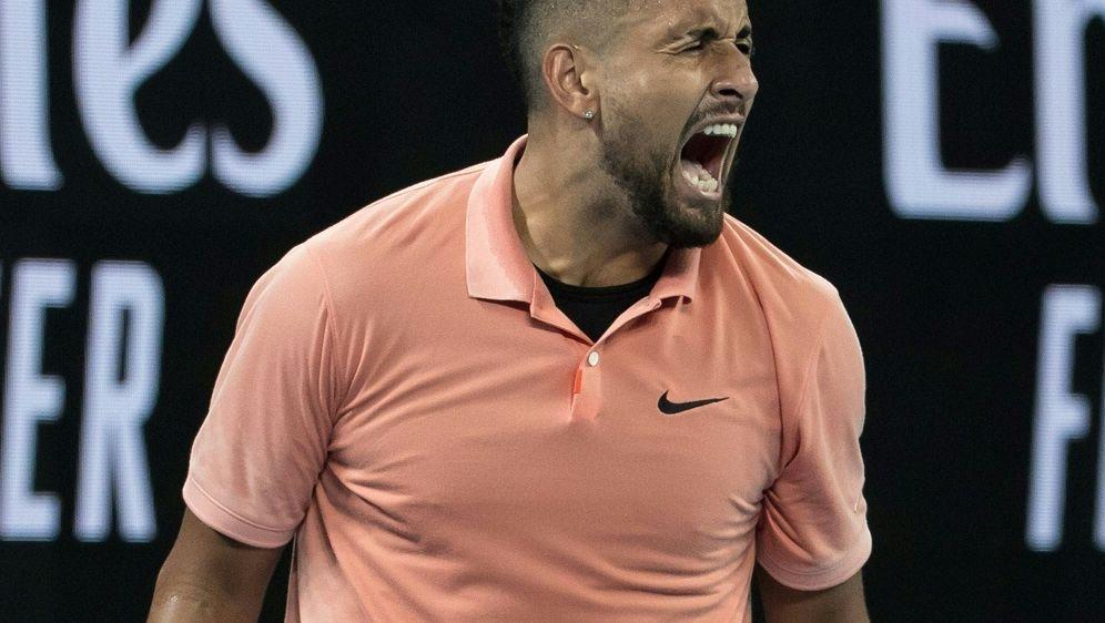 Nick Kyrgios scheitert im Achtelfinale an Rafael Nadal - Bildquelle: PIXATHLONPIXATHLONSID