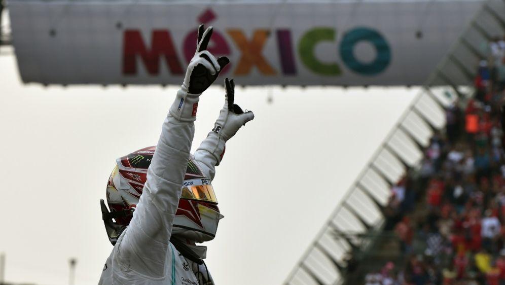 Holt er sich schon in Austin den Titel? Lewis Hamilton - Bildquelle: AFPSIDRODRIGO ARANGUA