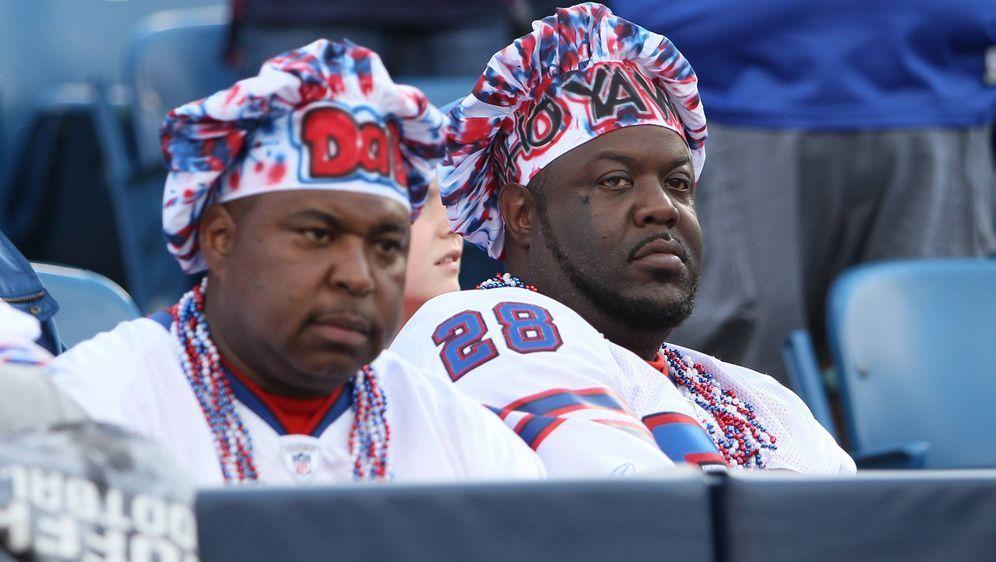 Die Fans der Buffalo Bills hatten in den letzten Jahren wenig Grund zur Freu... - Bildquelle: imago sportfotodienst