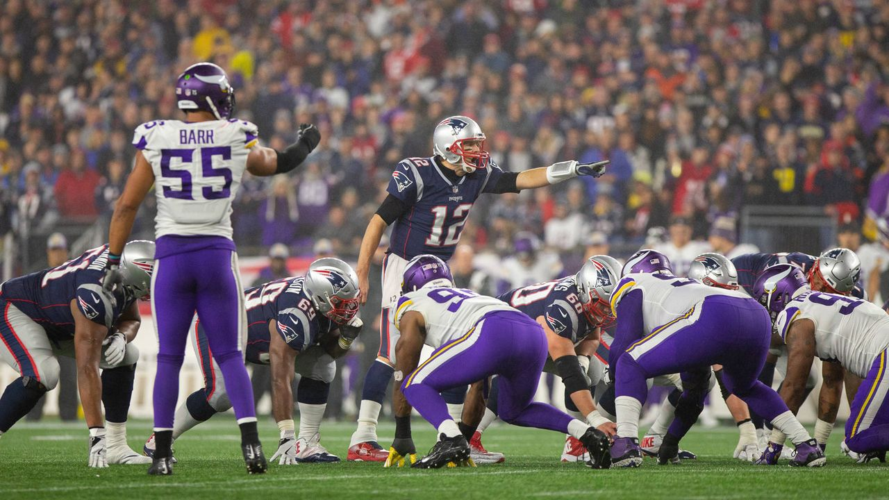 New England Patriots vs. Minnesota Vikings - Bildquelle: imago