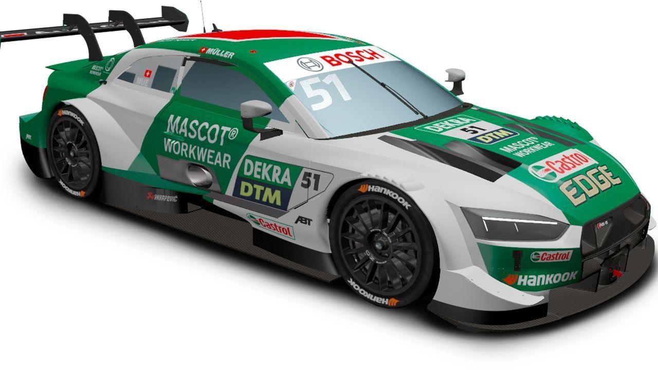 Nico Müller (Audi Sport Team Abt Sportsline) - Bildquelle: DTM