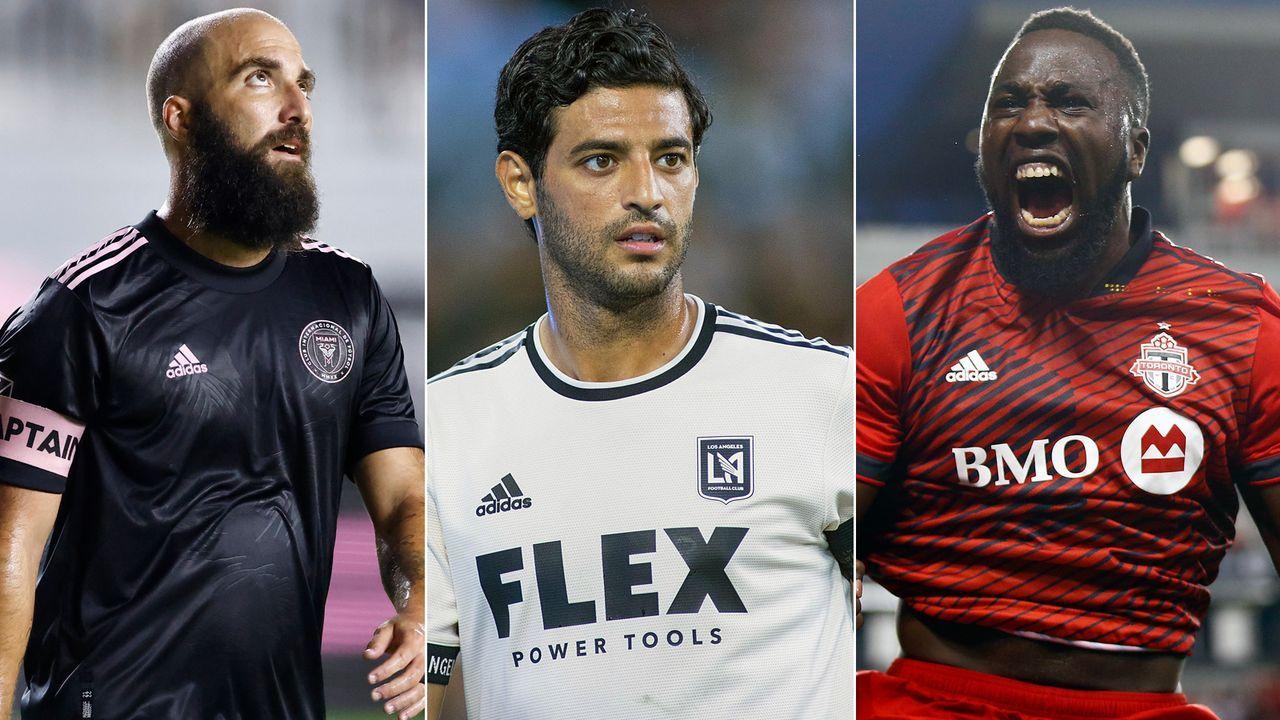 Topverdiener der Major League Soccer 2021 - Bildquelle: Imago/Getty Images
