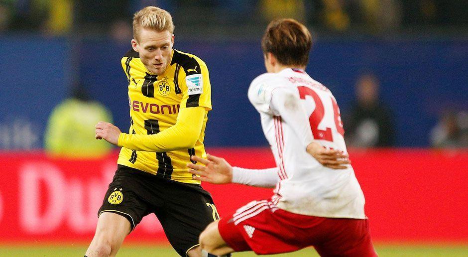 Borussia Dortmund vs. Hamburger SV - Bildquelle: imago/Philipp Szyza
