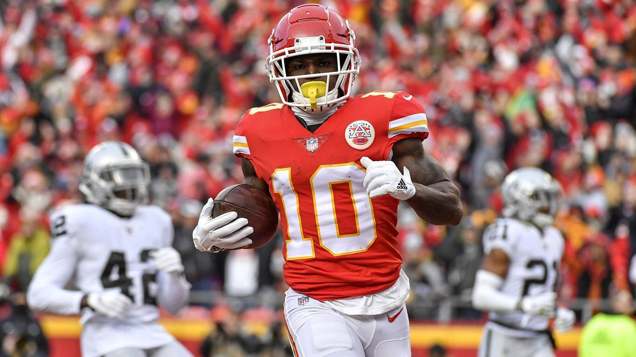 Platz 19: Tyreek Hill - Bildquelle: imago images / ZUMA Press