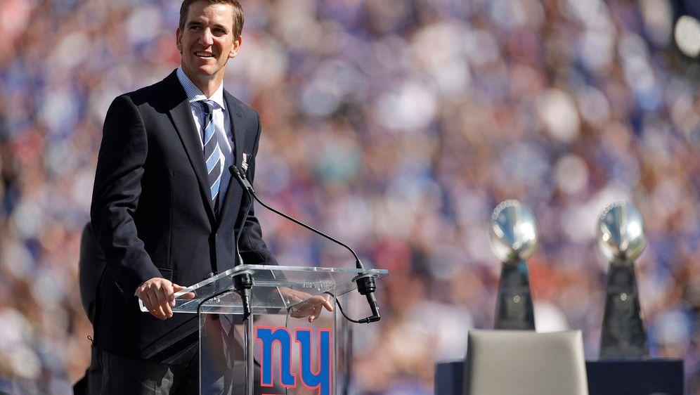 Eli Manning gewann mit den New York Giants zwei Mal den Super Bowl - Bildquelle: 2021 Getty Images