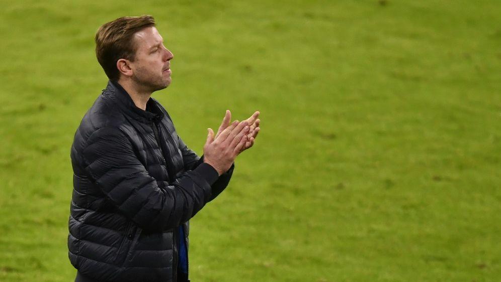 Werder-Trainer Kohfeldt beim Spiel gegen den FC Bayern - Bildquelle: POOLAFPSIDLUKAS BARTH