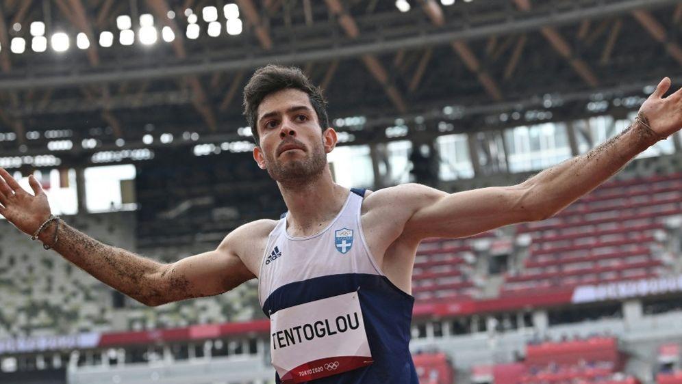 Mit dem letzten Sprung zu Gold: Miltiadis Tentoglou - Bildquelle: AFPSIDANDREJ ISAKOVIC