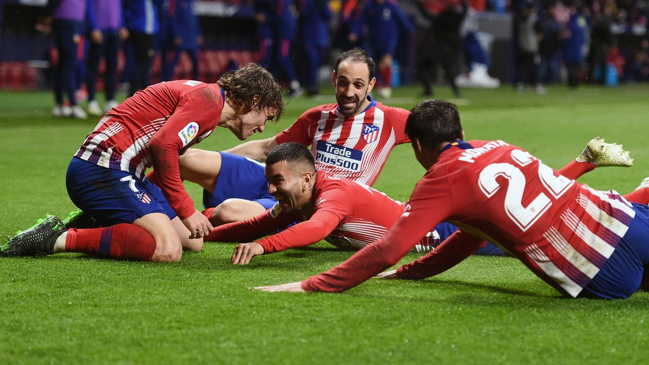 Atletico Madrid - Bildquelle: 2019 Getty Images