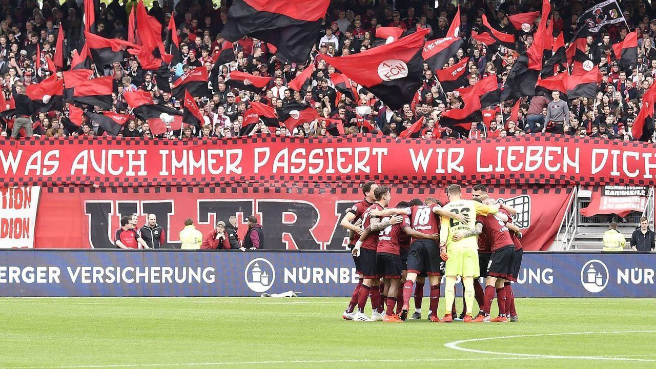 Platz 10: 1. FC Nürnberg - Bildquelle: imago images / Zink