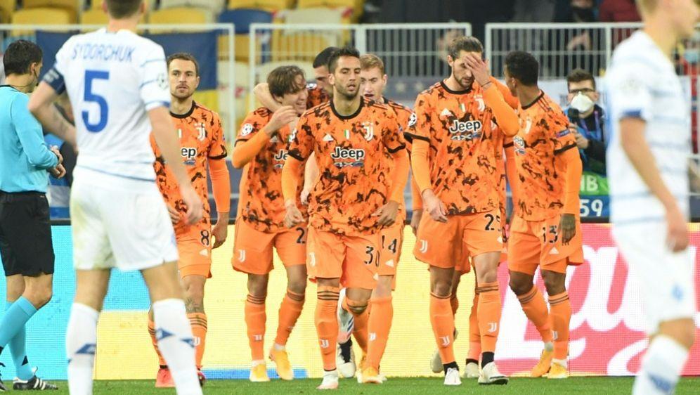 Der italienische Serienmeister gewann 2:0 gegen Kiew - Bildquelle: AFPSIDSERGEI SUPINSKY