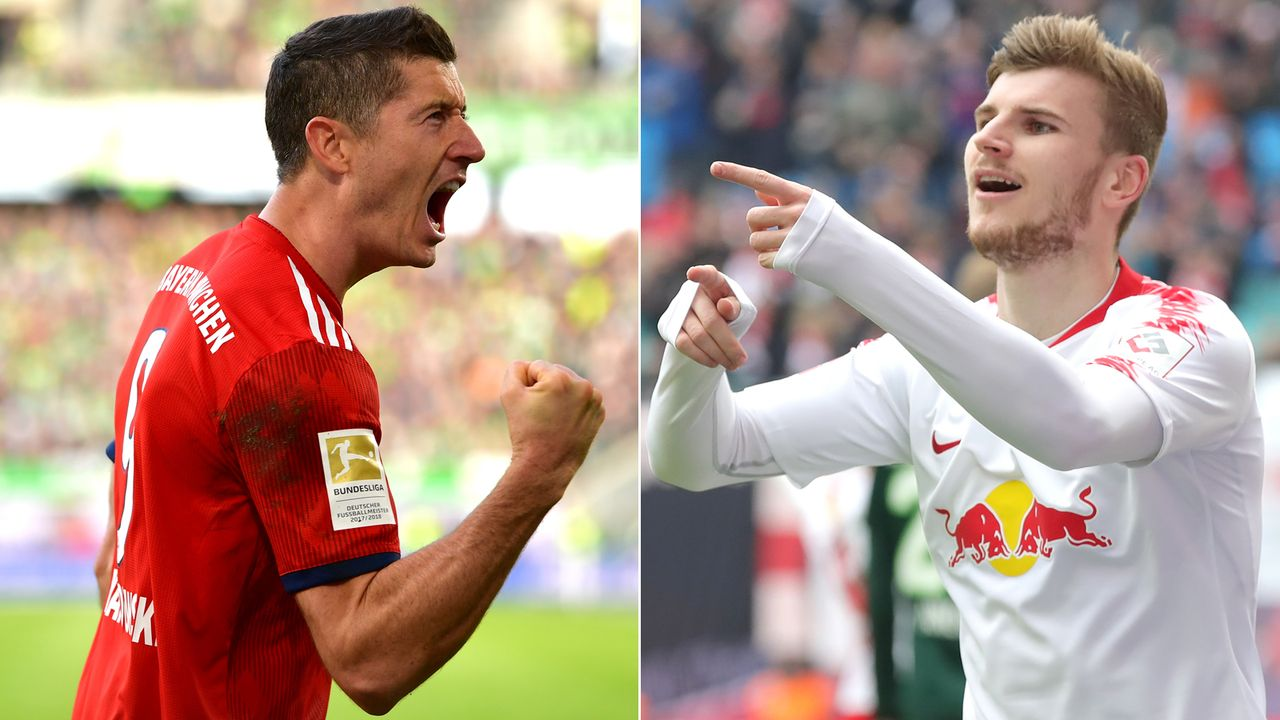 Robert Lewandowski vs. Timo Werner