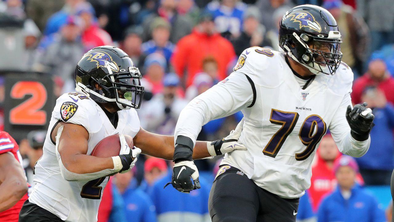 Platz 8: Ronnie Stanley (Baltimore Ravens) - Bildquelle: Getty Images