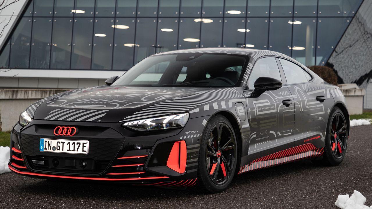 Audi e-tron GT - Bildquelle: AUDI AG