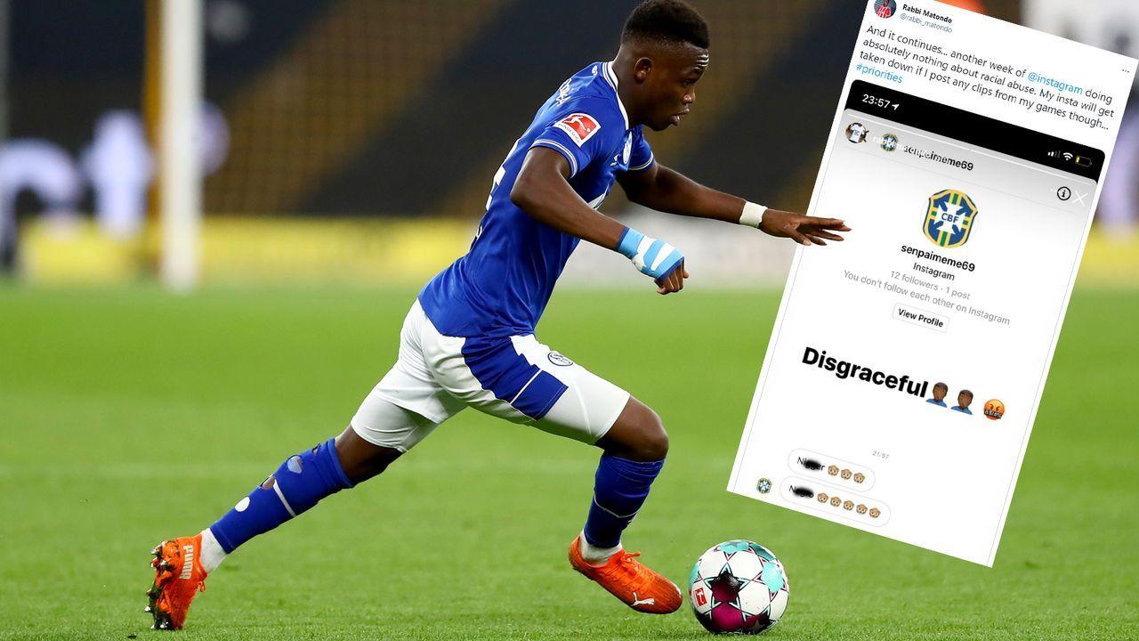 Schalke-Leihgabe Rabbi Matondo kritisiert Instagram nach rassistischer Beleidigung - Bildquelle: 2020 Getty Images