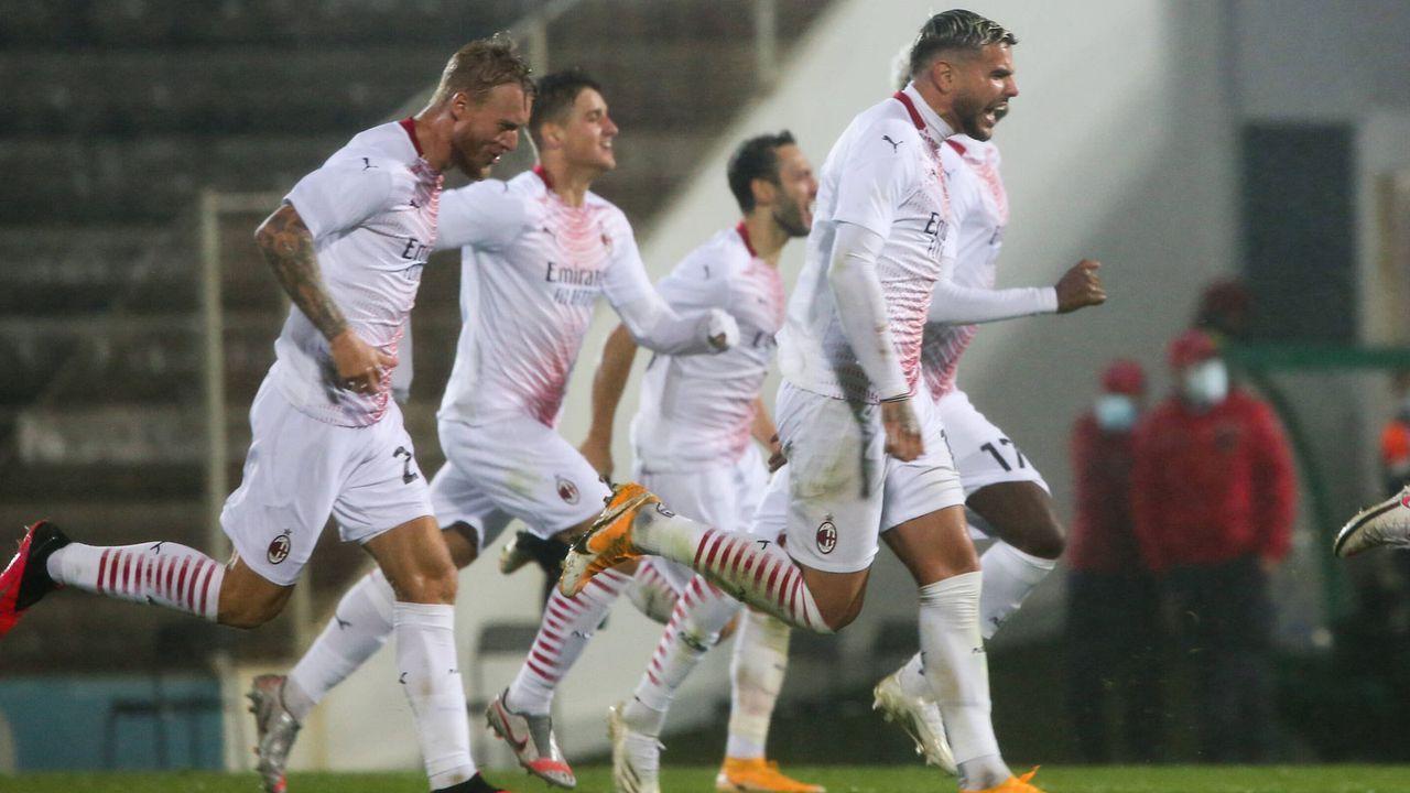 Erst Elfmeterglück, dann Flug verpasst: Kuriose Europa-League-Qualifikation für den AC Mailand - Bildquelle: imago images/Pro Sports Images