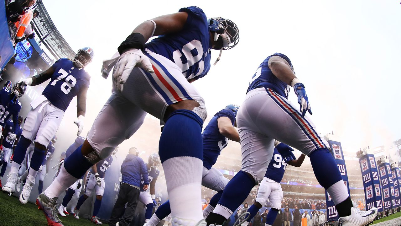 4. New York Giants - Bildquelle: 2018 Getty Images