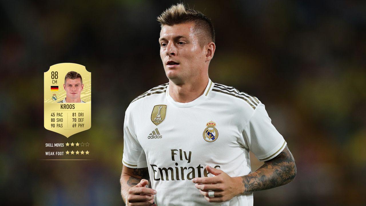 24. Toni Kroos (Real Madrid)  - Bildquelle: 2019 Getty Images