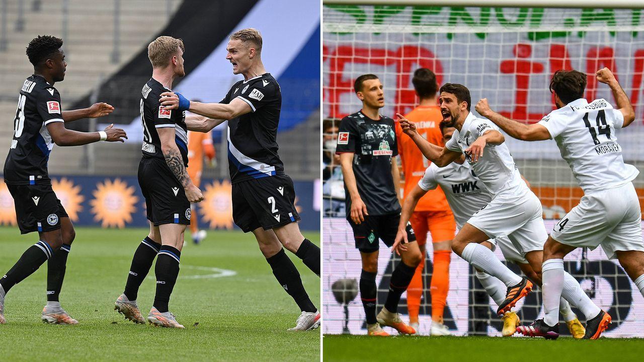 So lief der Abstiegskampf am 33. Spieltag - Bildquelle: Getty Images / Imago Images