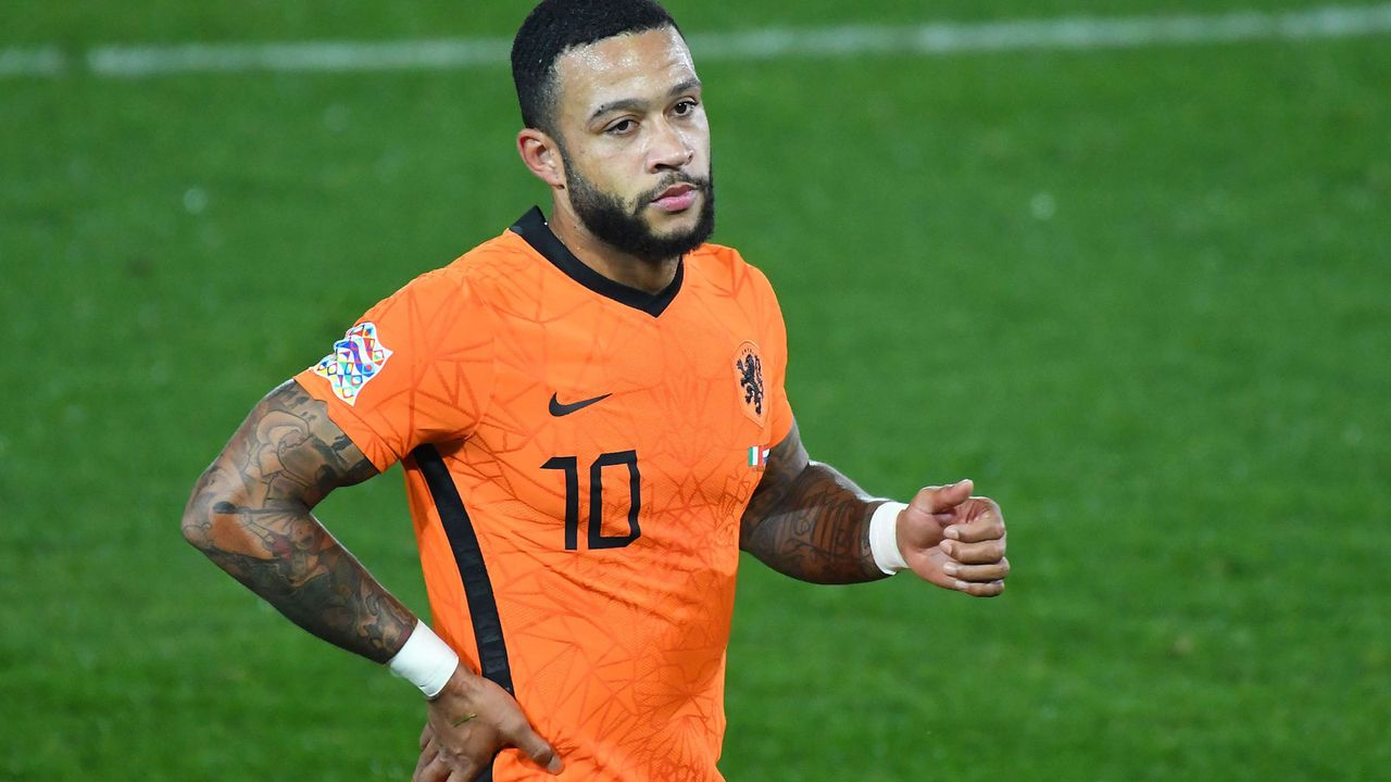 Memphis Depay (26) - Bildquelle: 2020 Getty Images