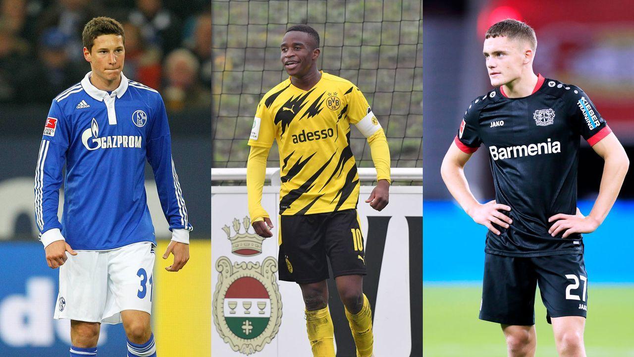 Top 15 -  Die jüngsten Spieler der Bundesliga-Geschichte - Bildquelle: Imago Images