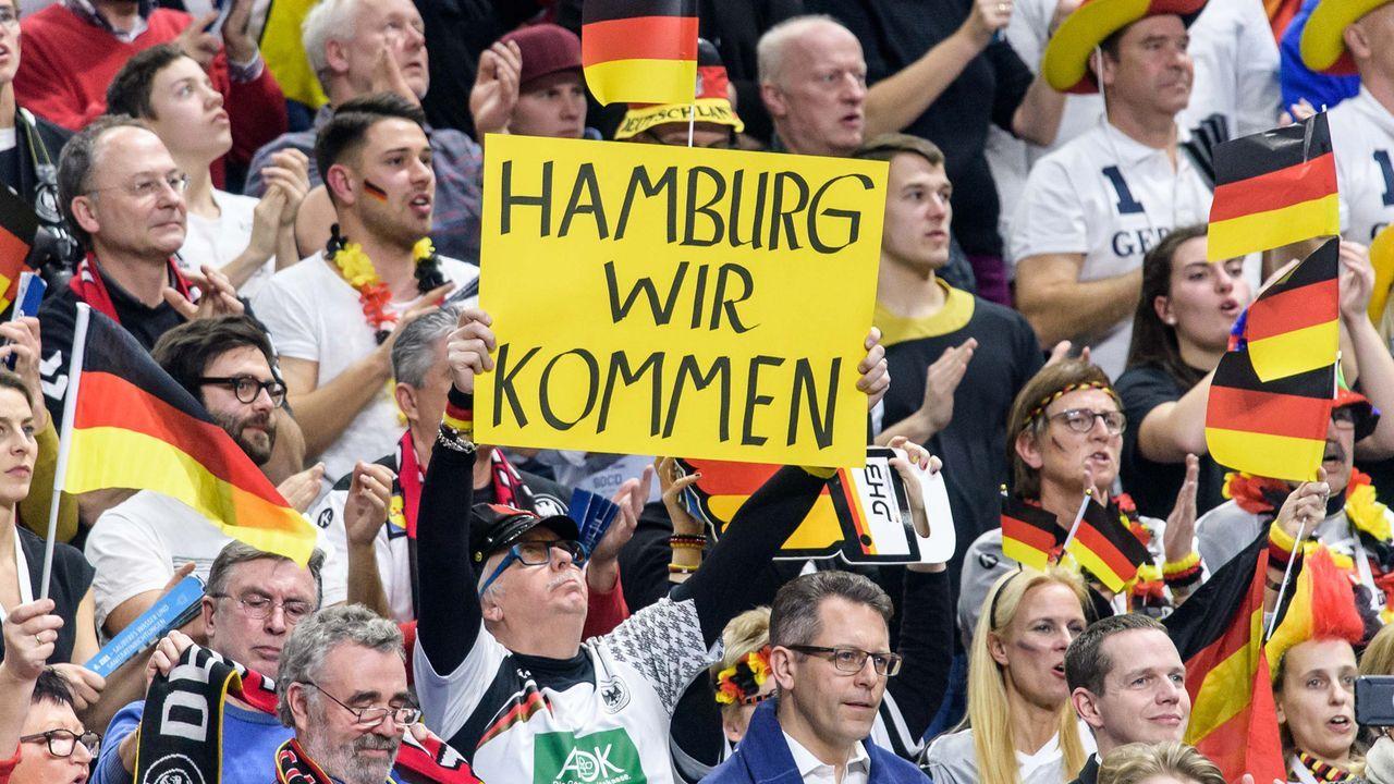 Hamburg wir kommen!  - Bildquelle: Getty Images