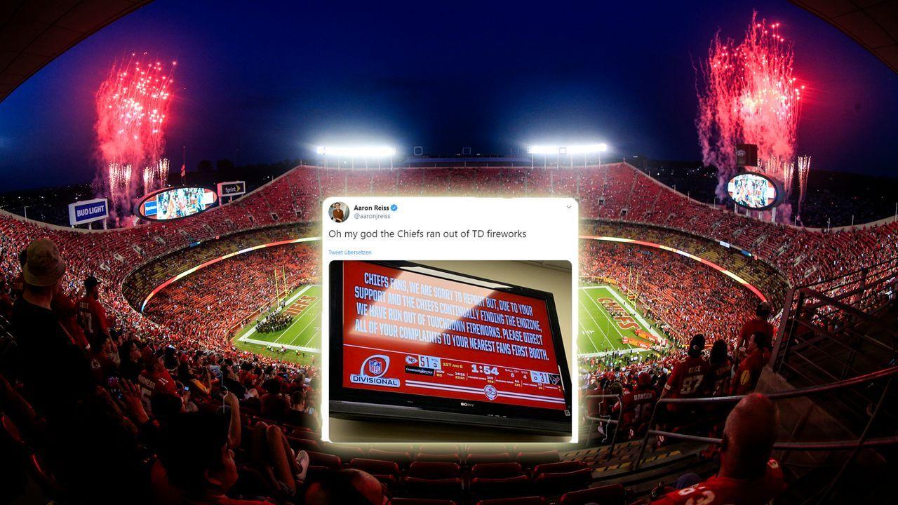 Zu viele Touchdowns - Chiefs hatten kein Feuerwerk mehr - Bildquelle: Getty Images