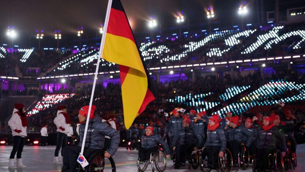 Neues Logo für Deutschlands Palaympics-Team - Bildquelle: AFP PHOTOOISIOCSIDTHOMAS LOVELOCK
