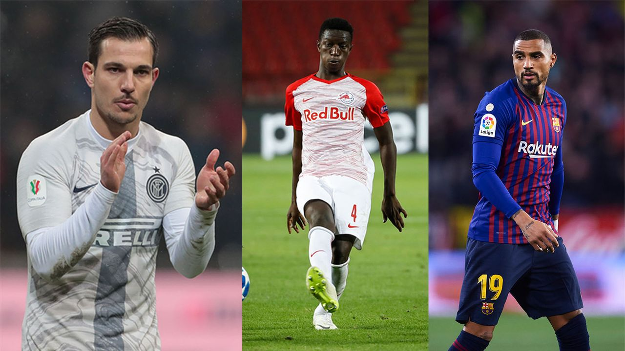 Cedric Soares, Amadou Haidara, Kevin Prince Boateng  - Bildquelle: Getty Images