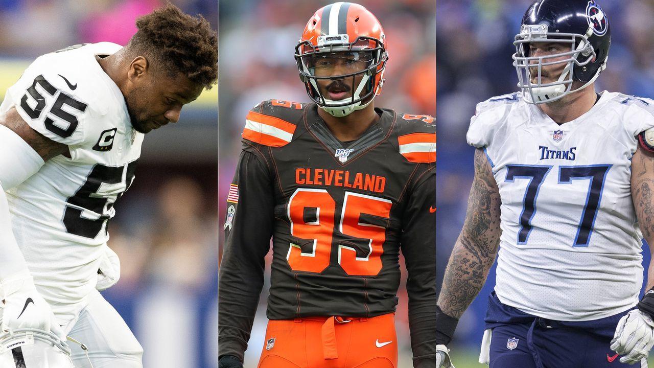 NFL: Diese Spieler haben 2019 am meisten Geld durch Sperren verloren - Bildquelle: Imago