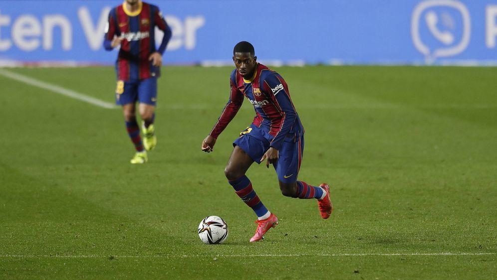 Bei Barca zuletzt gesetzt: Ousmane Dembele - Bildquelle: Imago