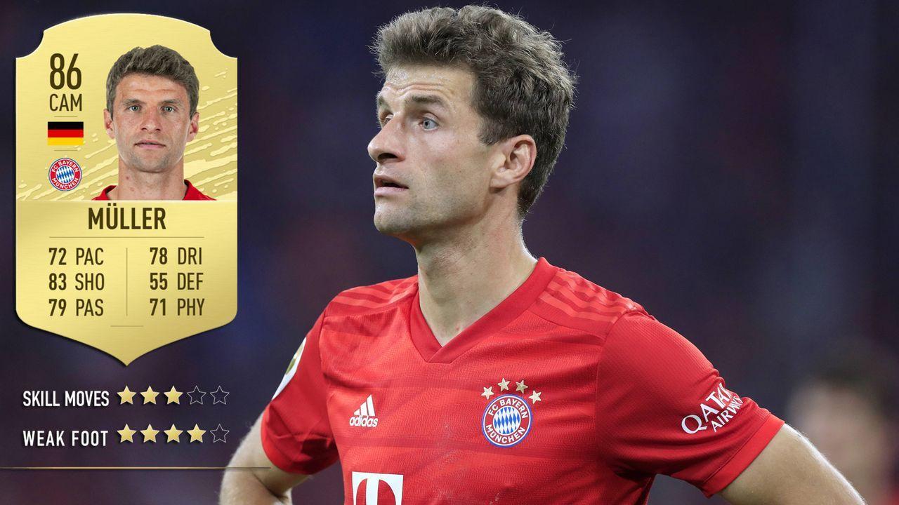 Thomas Müller (FC Bayern München) - Bildquelle: imago images / Laci Perenyi