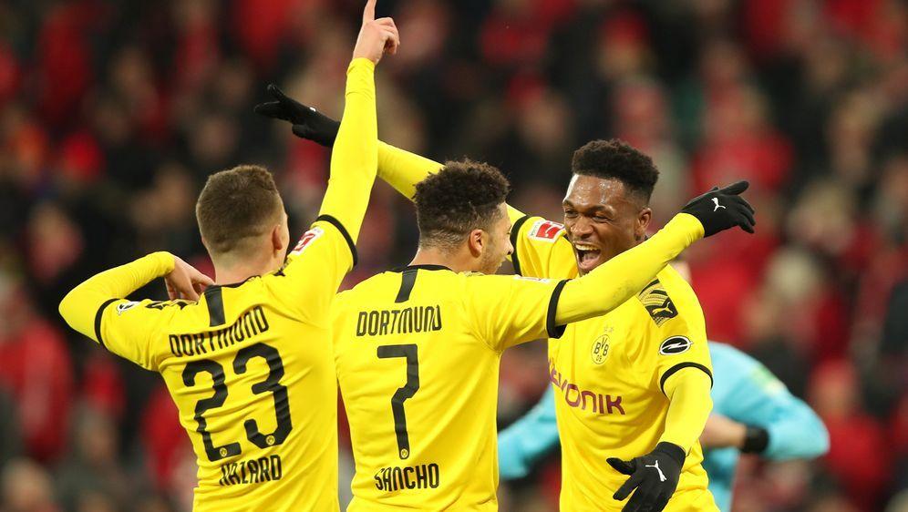 Dortmund jubelt über Sieg in Mainz - Bildquelle: Getty Images