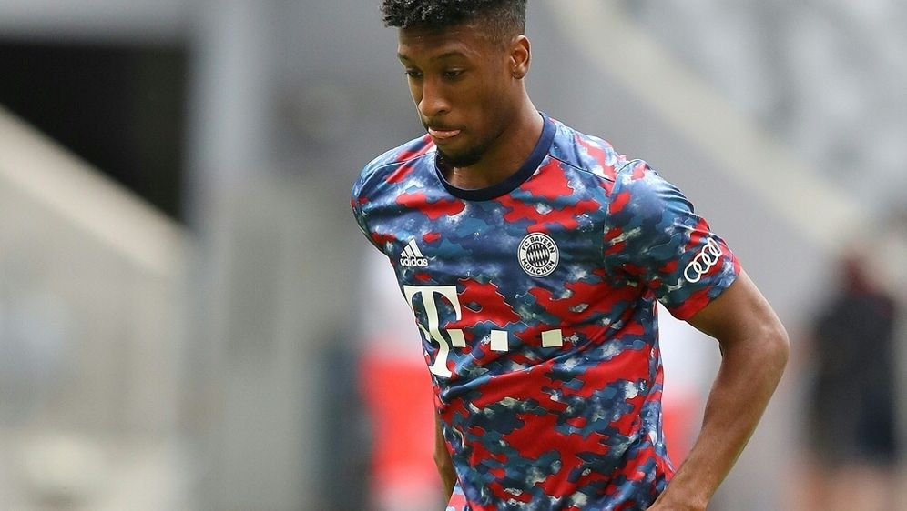 FC Bayern: Coman nimmt Mannschaftstraining auf - Bildquelle: FIROFIROSID
