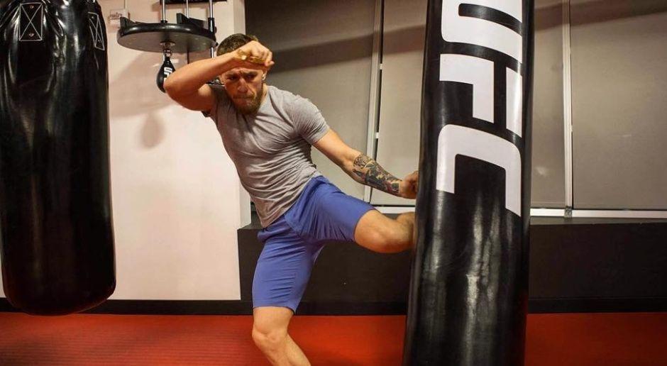 Wird McGregor einen Kick ansetzen? - Bildquelle: instagram.com/thenotoriousmma