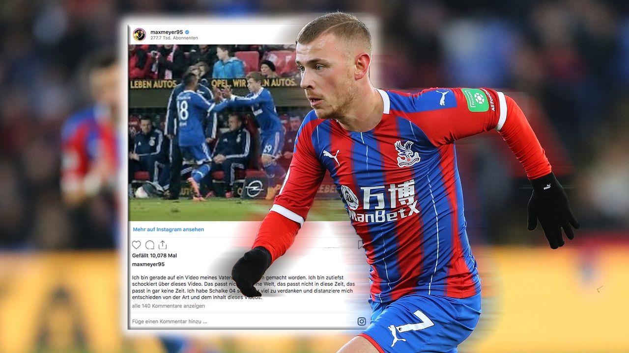 Max Meyer distanziert sich von Schalke-Schmähvideo seines Vaters - Bildquelle: Getty Images