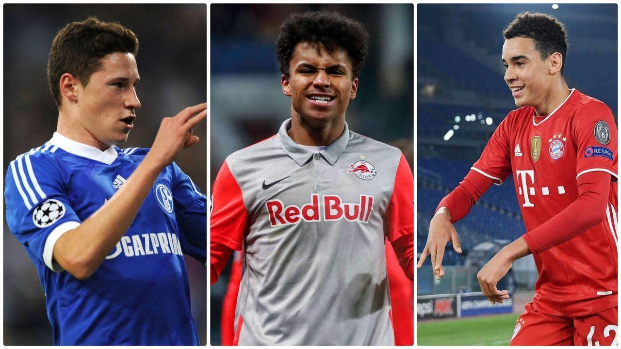 Top 10: Die jüngsten deutschen Champions-League-Torschützen - Bildquelle: Imago Images/Imago Images/Imago Images