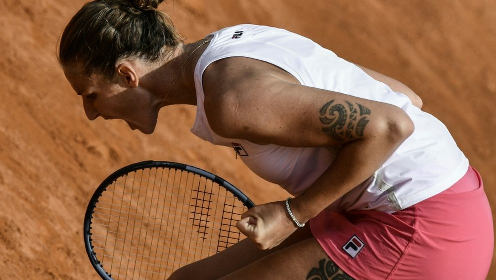 Hat gegen Petra Martic gewonnen: Karolina Pliskova - Bildquelle: AFPSIDFILIPPO MONTEFORTE