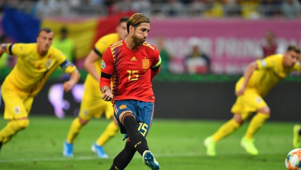 Wird Spaniens alleiniger Rekordspieler: Sergio Ramos - Bildquelle: AFPSIDDaniel MIHAILESCU