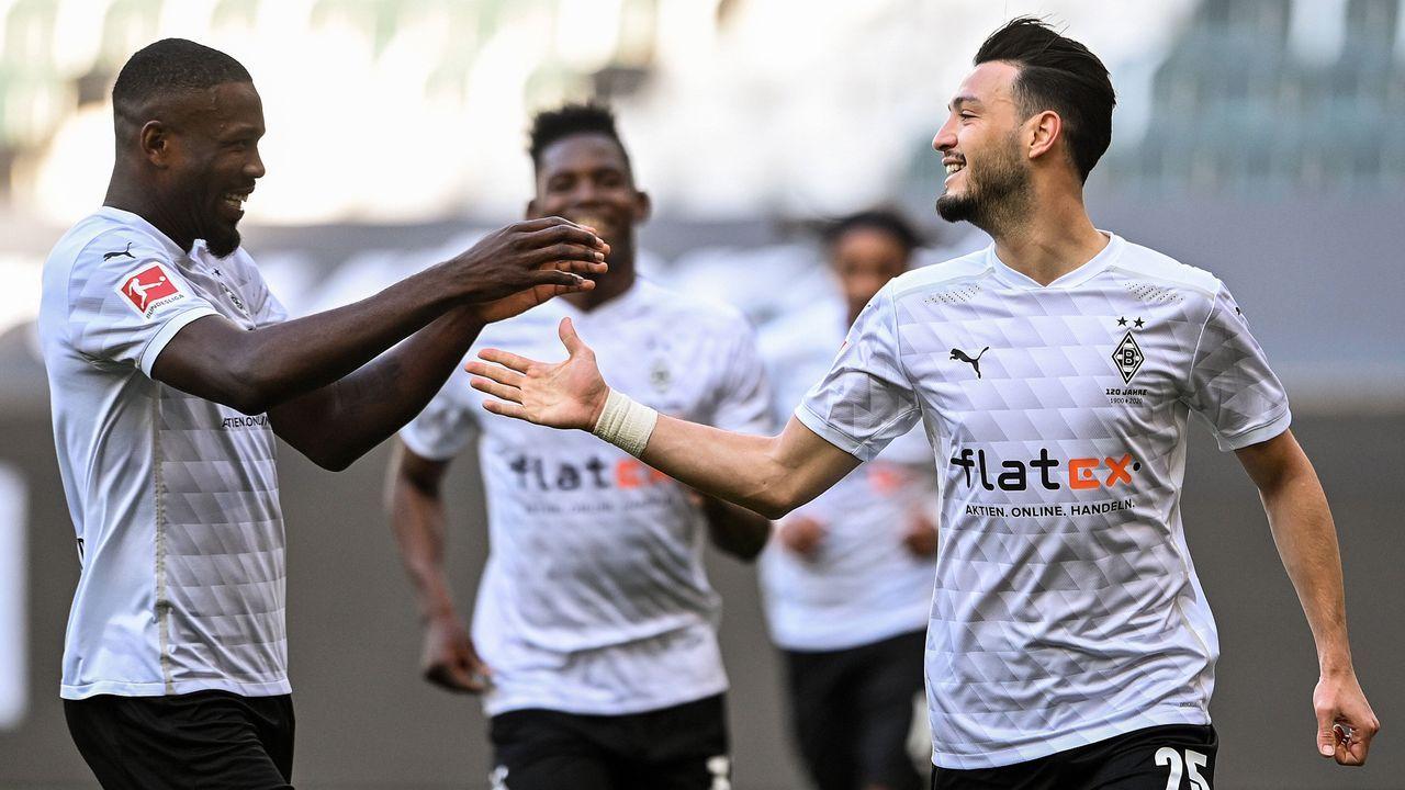 Platz 10 (geteilt): Borussia Mönchengladbach - Bildquelle: imago images/Xinhua