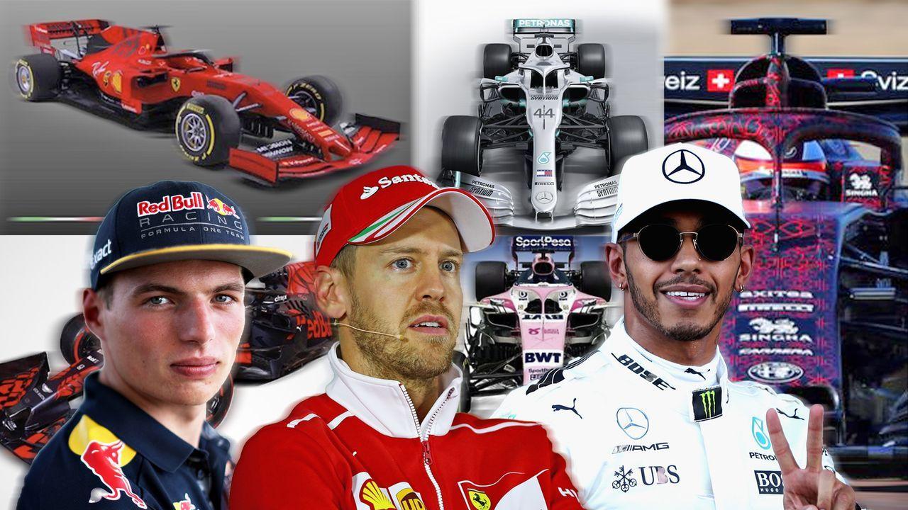 Formel 1 2019: Das sind die Rennwagen der aktuellen Saison - Bildquelle: Getty