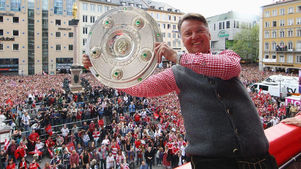 Trainer: Louis van Gaal (FC Bayern) - Bildquelle: Getty