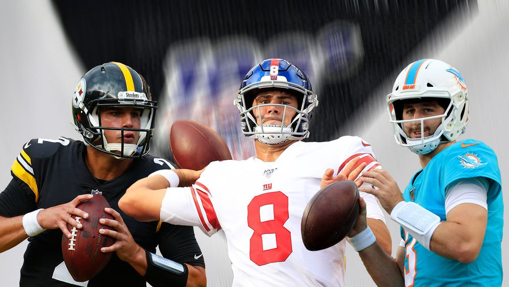 Rücken in Week 3 in die Starter-Rollen: Mason Rudolph, Daniel Jones und Josh... - Bildquelle: Getty Images