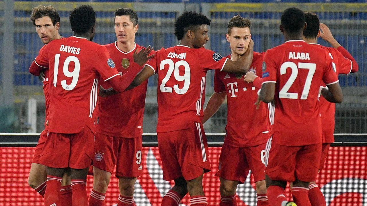 Gala bei Lazio Rom! Die Noten für die Bayern-Stars - Bildquelle: Getty