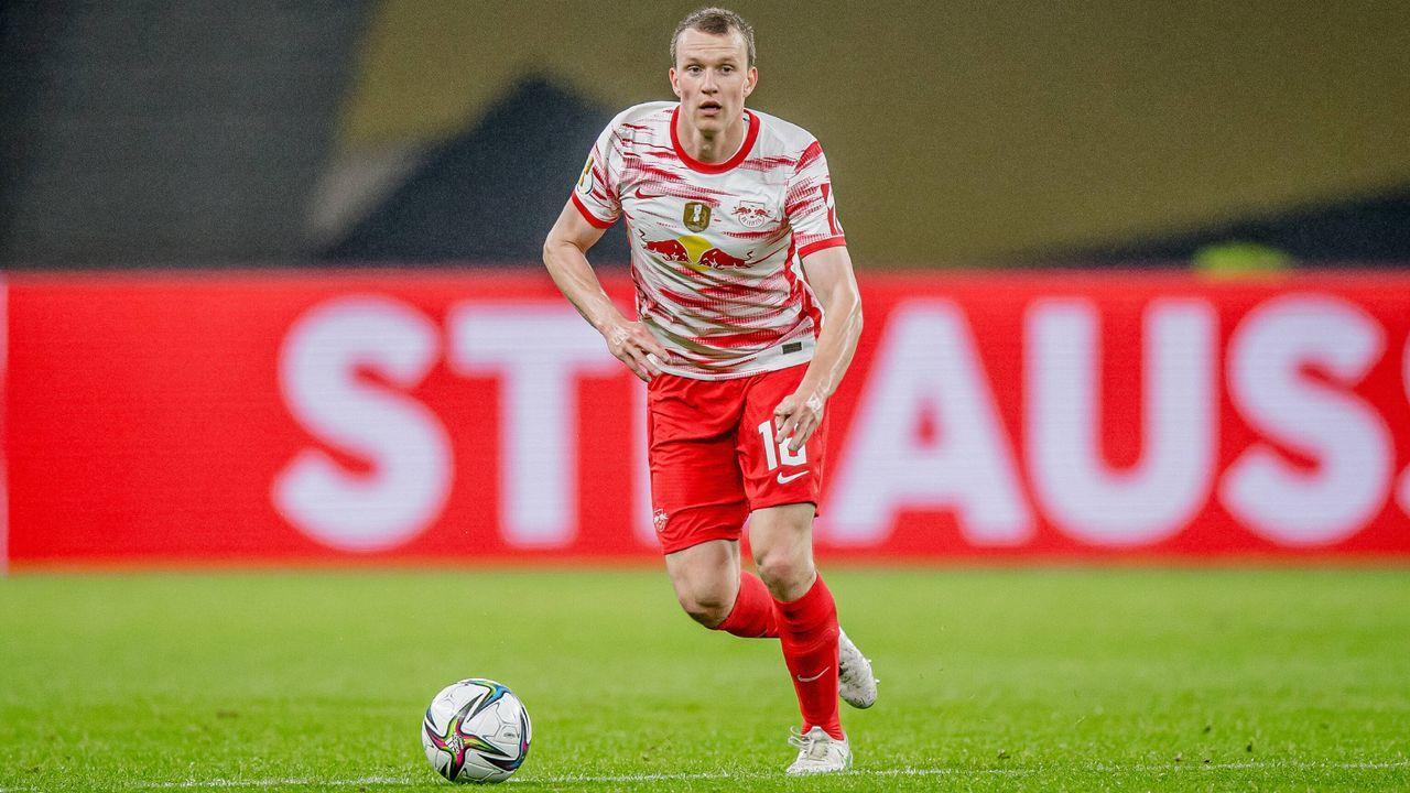Platz 3 (geteilt): Lukas Klostermann (RB Leipzig) - Bildquelle: Imago