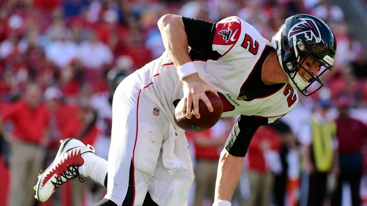Platz 21: Atlanta Falcons - Bildquelle: 2018 Getty Images