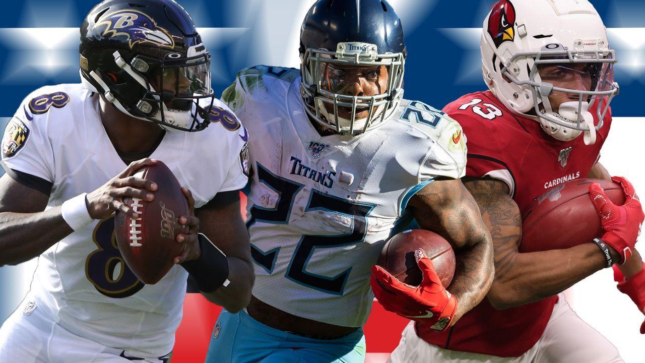 NFL-Fantasy Manager: Das Top-Team aus Week 10 - Bildquelle: imago/getty