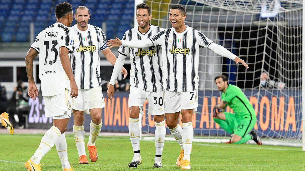 Platz 6: Juventus Turin - Bildquelle: Imago