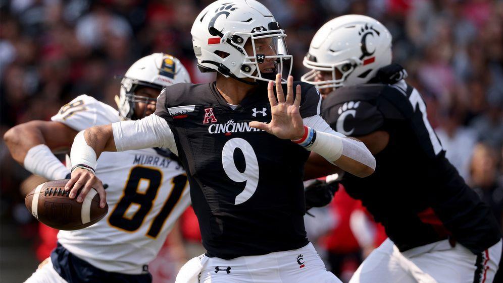 Desmond Ridder gehört zu den Top-Quarterbacks im College Football. - Bildquelle: Getty Images